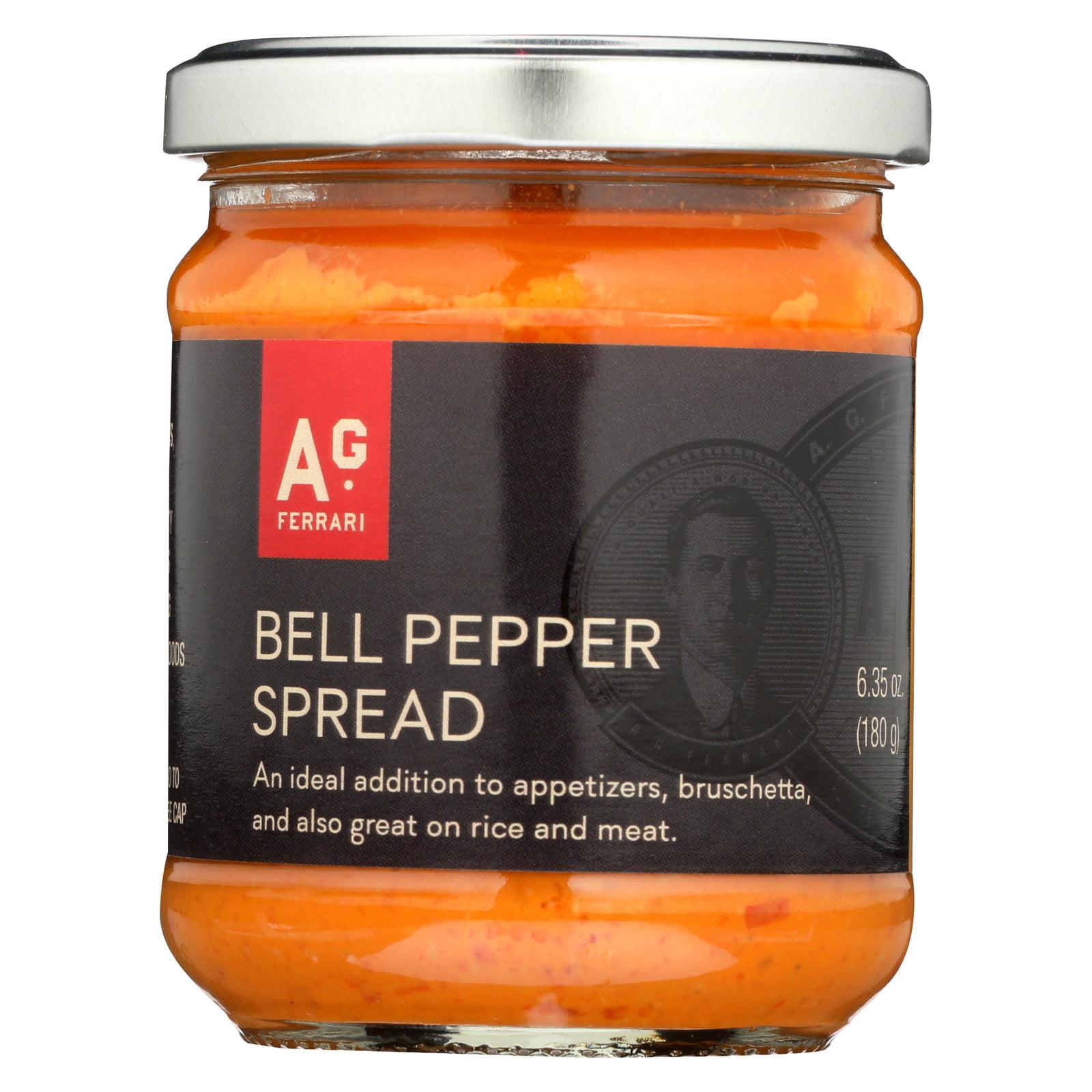 A.G. Ferrari Pesto Bell Pepper Case of 12 6.35 oz. by