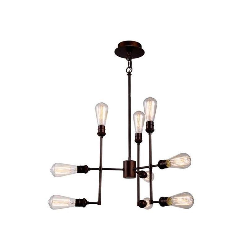 "Elegant Lighting Ophelia 23"" 9 Light Chandelier - image 1 de 1"