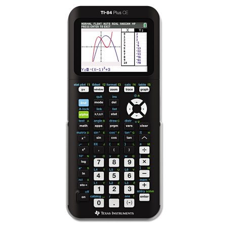 Texas Instruments TI-84+ CE Graphing Calculator, Black