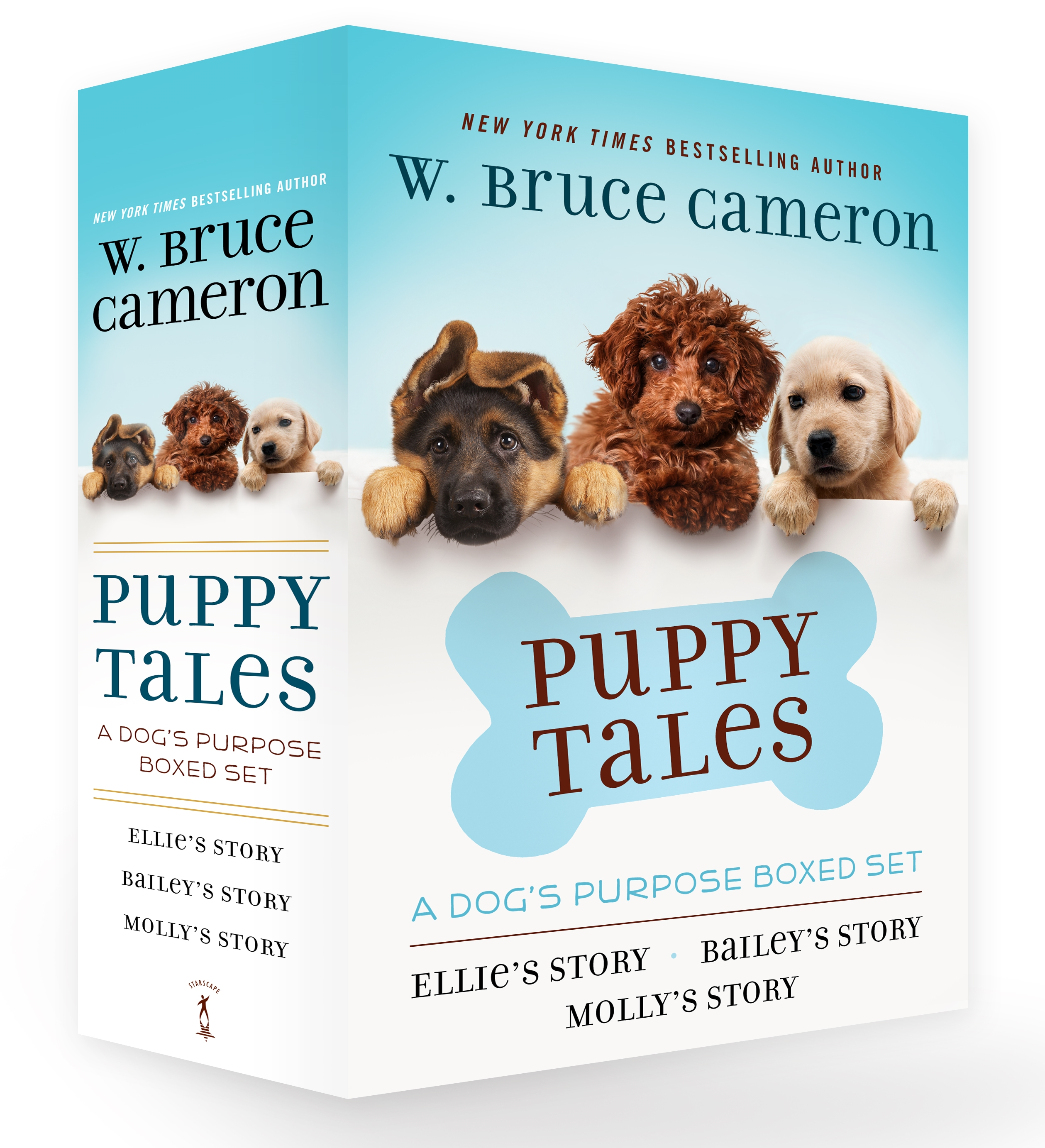 Puppy Tales: A Dog's Purpose Boxed Set : Ellie's Story, Bailey's Story, and Molly's Story