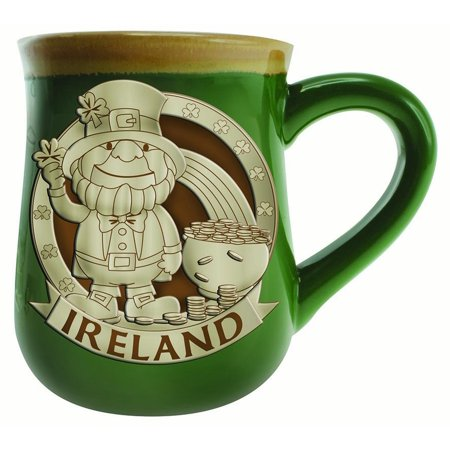 Belleek Pottery Ireland (Leprechaun Ireland Pottery Mug )
