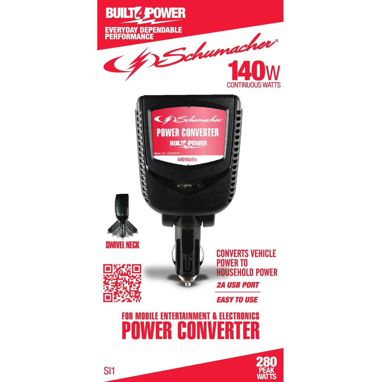 Schumacher Electric 140W Power Converter