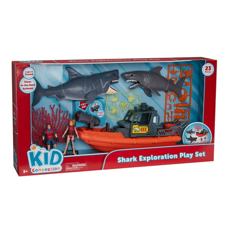 Kid Connection Shark Exploration Play Set](Shark Tank Toys)
