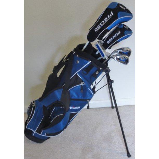 Left Handed Junior Golf Club Set With Stand Bag For Kids Ages 8 12 Jr Boys Premium Professional Quality Equipment Walmart Com Walmart Com