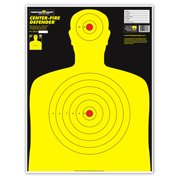 "Thompson Target Center-Fire | Life Size Ultra Bright Silhouette Paper Shooting Targets - 19""x25"" (5 Pack)"