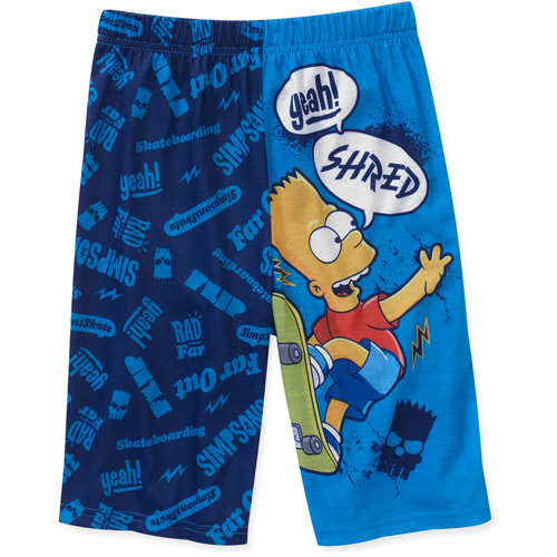 Simpson - Boys Bart Jam Pajama Short