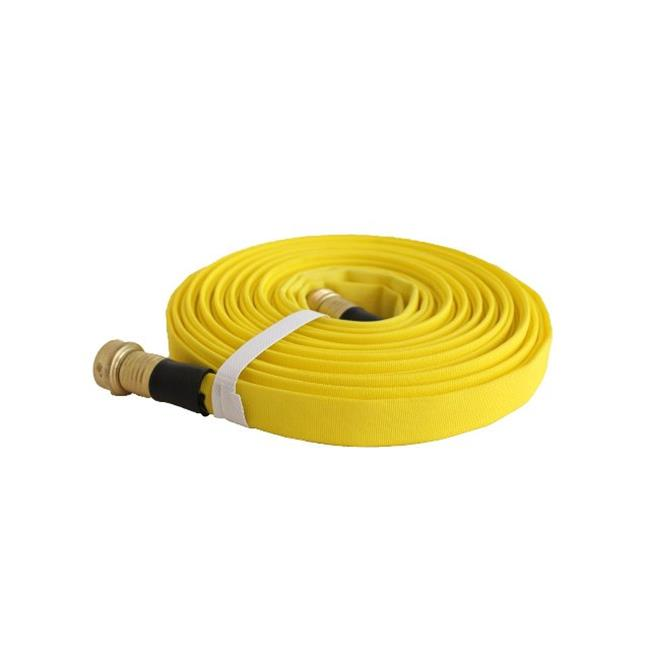 Good Wasp 25 Foot Forestry Grade Lay Flat Hose With Standard Garden Hose Thread