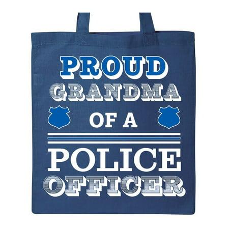 Proud Grandma of a Police Officer Tote Bag