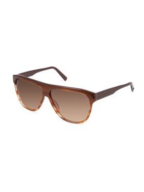 Cynthia Rowley No. 15 Women's Honey Stripe Aviator Sunglasses