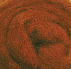 "Wistyria Editions Wool Roving 12"" .22oz-Nutmeg"