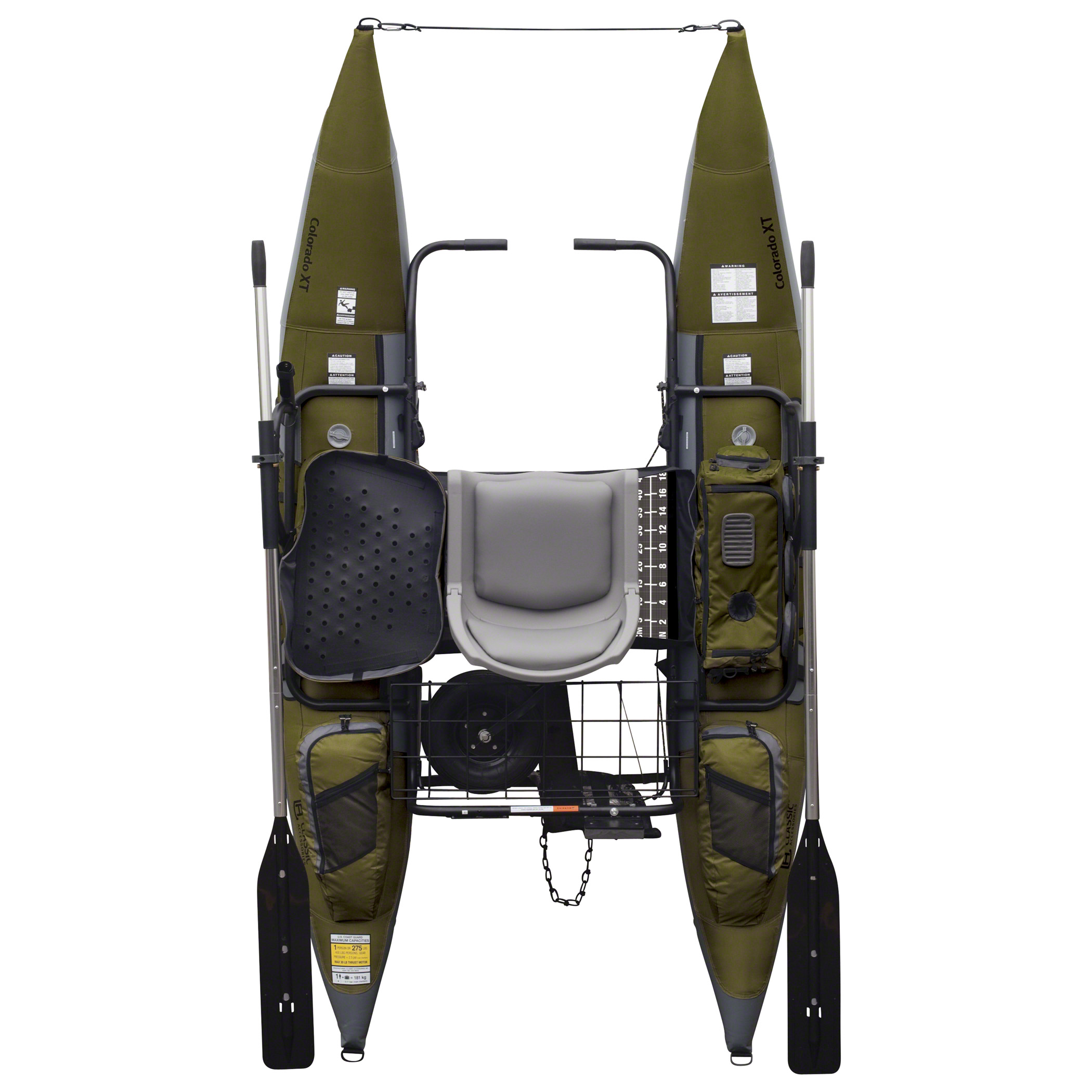 Classic Accessories Colorado Xt 9ft Pontoon Boat: Product Features: