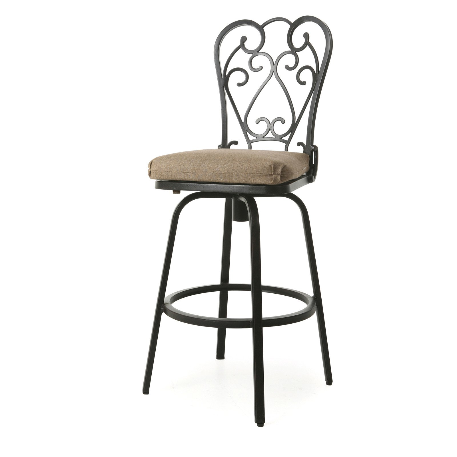 Impacterra Magnolia Ii 32 In Outdoor Bar Stool Walmartcom