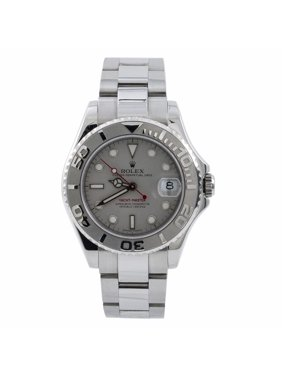 Pre-Owned Rolex Yacht-master 168622 Steel  Watch (Certified Authentic & Warranty)