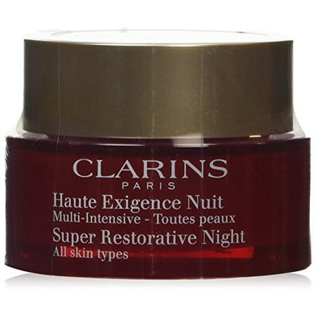 Restorative Creme - Clarins Super Restorative Night Cream for Unisex, 1.6 Ounce