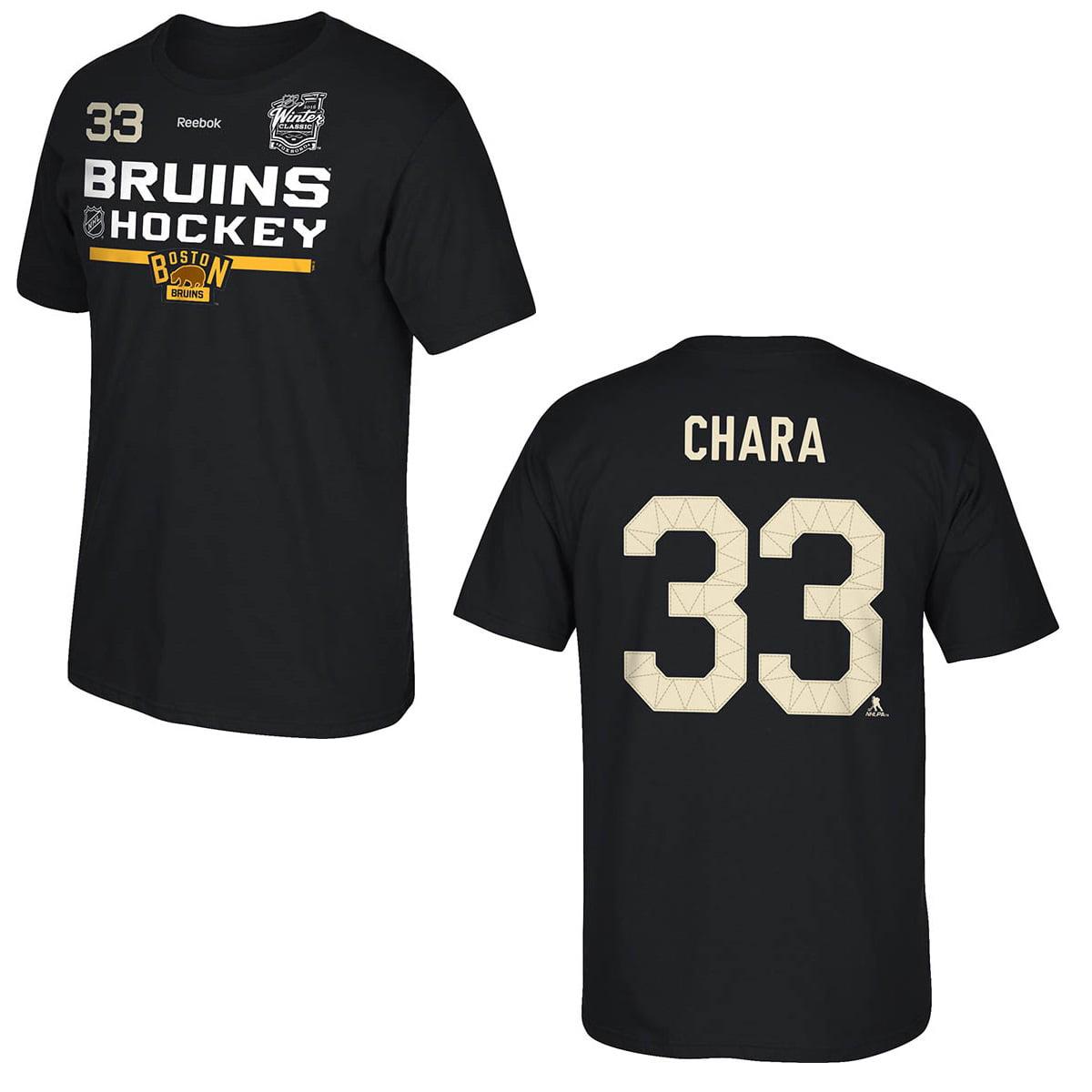Boston Bruins Zdeno Chara 2016 Winter Classic Locker Room Player T-Shirt