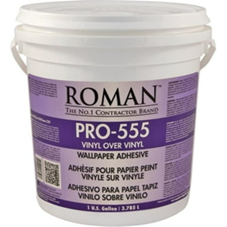 Roman Decorating Products Pro 555 1 Gallon Over Vinyl