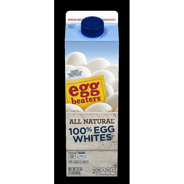 EGG BEATERS 100% Egg Whites All-Natural Egg Whites 32 oz ...
