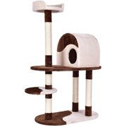 Gymax 48`` Cat Tree Kitten Activity Tower Furniture Condo w Perches Scratching Posts