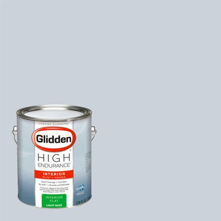 Glidden High Endurance, Interior Paint and Primer, Fostoria Glass Blue, #90BG 63/043