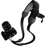 USA Gear Quick Access Sling Shoulder Neck Strap with Comfortable Padded Neoprene and Accessory Pockets - Works With Sony, Nikon, Canon, Panasonic and More Cameras