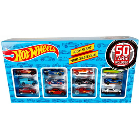 Hot Wheels Classic 50-Car Collection Pack (Styles May