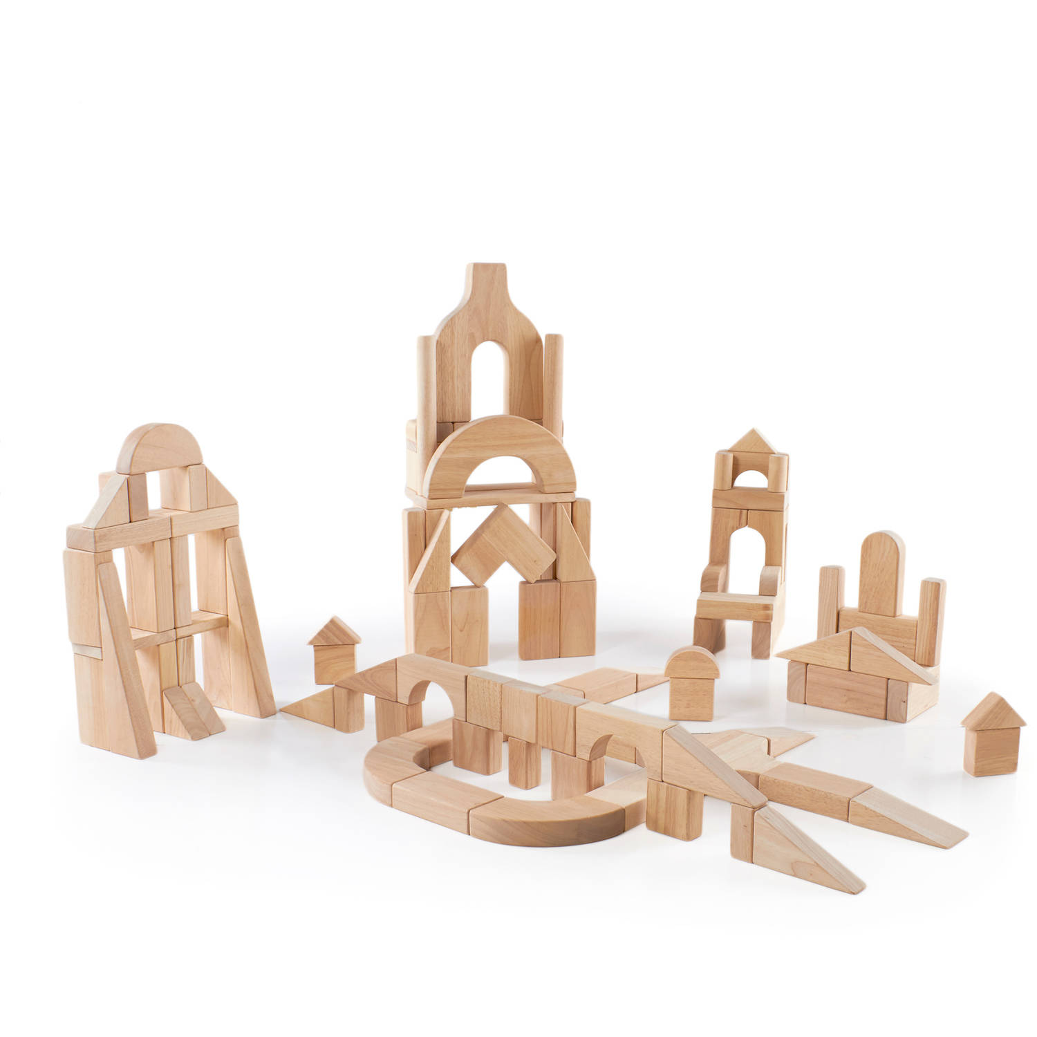 Guidecraft Classroom Unit Blocks, 110 Pieces by Guidecraft