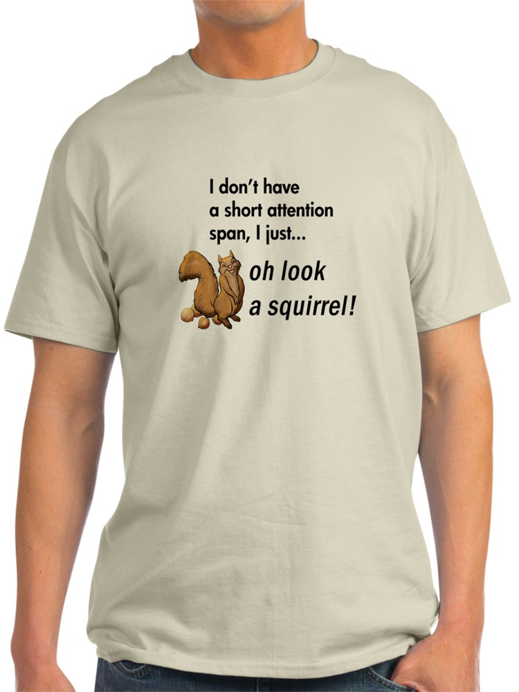 CafePress Oh Look A Squirrel Womens PJs