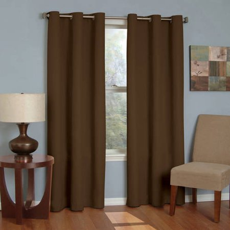Eclipse Microfiber Energy-Efficient Grommet Blackout Curtain Panel ()