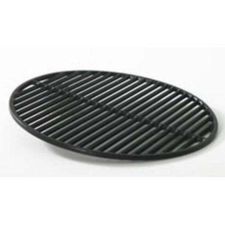 "Vision Kamado Charcoal Grill 18 3/16"" Cast Iron Coated Cooking Grate"