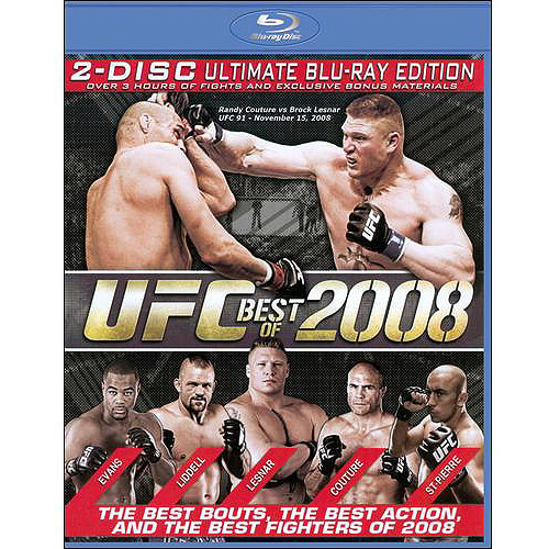 UFC: Best Of 2008 (2-Disc Ultimate Edition) (Blu-ray) (Widescreen)