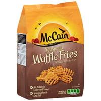 McCain Seasoned Waffle Fries 26 oz. Bag