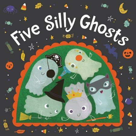 5 Silly Ghosts (Board Book)](Silly Halloween Jokes)