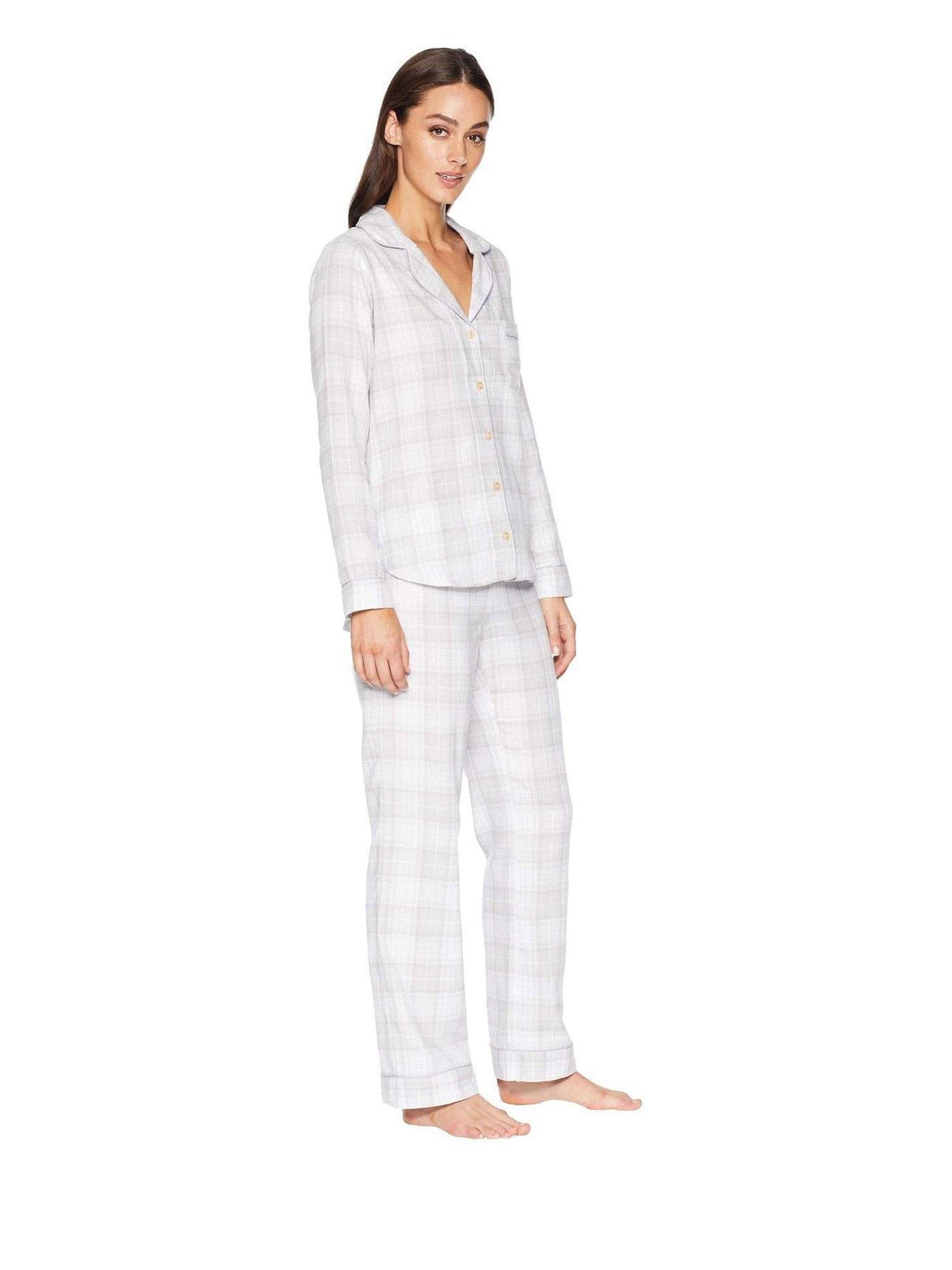 4457c48383 UGG Raven Flannel Women s Sleepwear Set 1101798 - Walmart.com