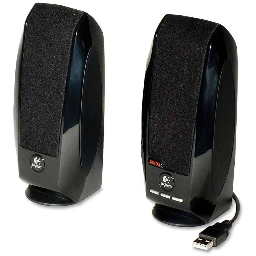 Logitech S-150 1.2 Watts 2.0 Digital USB Speaker