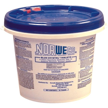 Norweco Tablet Septic Treatment 10 lb. - Case Of: 1;