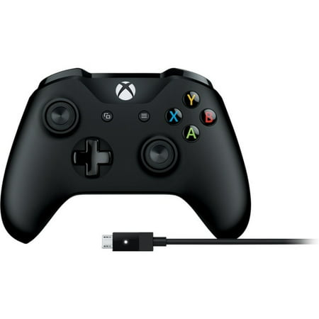 Microsoft Xbox One Wireless Controller + Cable for Windows $40 + Free S/H