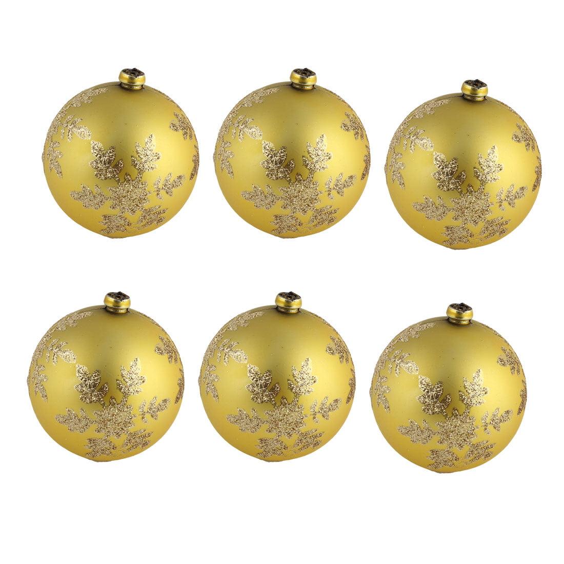 Unique Bargains Boutique Christmas Tree Shatter Resistance Collectible Ornament Ball 6 Pcs