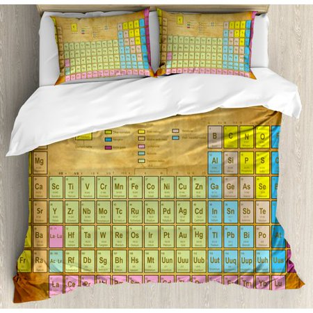 Ambesonne periodic table chemistry elements for classroom geek this button opens a dialog that displays additional images for this product with the option to zoom in or out urtaz Choice Image