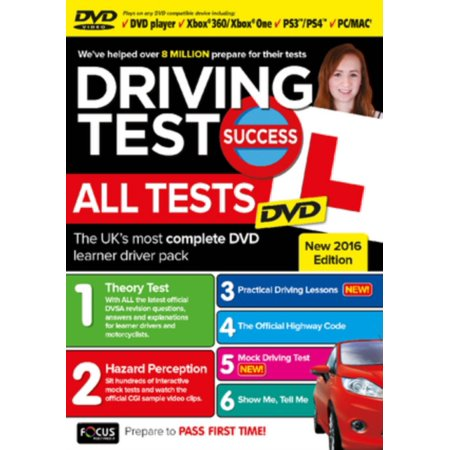 Driving Test Success All Tests DVD (All The Answers To The Driving Test)