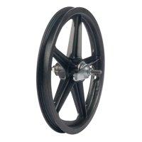 """Skyway, Tuff II rear wheel 16X1.75"""" 3/8"""" nutted Coast Br 5 Spk Bk"""