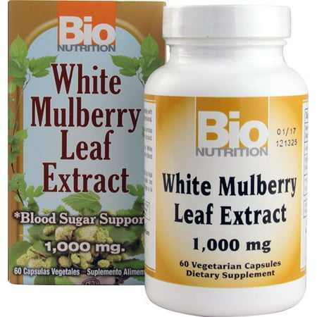 Bio Nutrition Inc  White Mulberry Leaf Ctsules  60 Ct