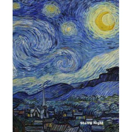 Starry Night Journal   Notebook  Graph Paper   Grid Paper  120 Pages  1 Cm Squares  8 5 X 11 Inch Format   Starry Night By Vincent Van Gogh