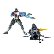 Overwatch Ultimates Series Soldier: 76 and Shrike Ana Skin Dual Pack Figures