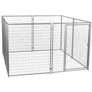 Lucky Dog 6`H x 10`W x 10`L Modular Welded Wire Kennel Kit