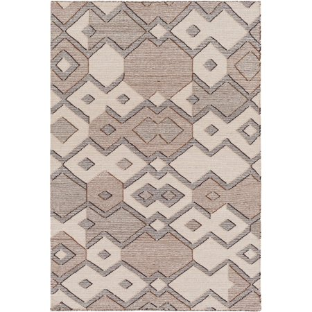 Surya CMR1001-23 Beige Cameroon 2' X 3' Rectangle Wool Hand Woven Transitional Area Rug