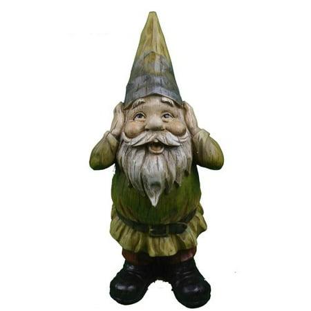 August Grove Daubert Hear No Evil Gnome Statue