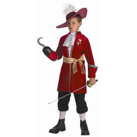 Captain Hook from Peter Pan Child Costume DIS5966 - 3T-4T