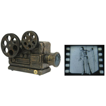 Haunted Movie Animated Projector Halloween Decoration - Animated Halloween Movies
