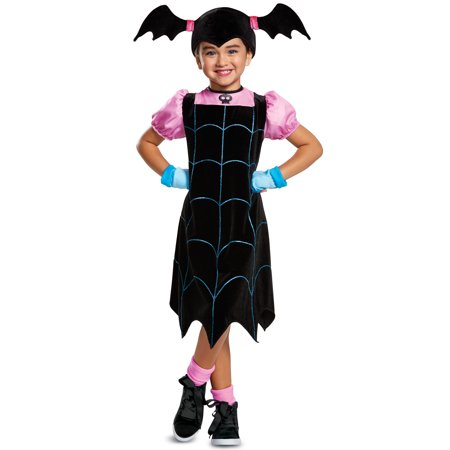 Transylvania vampirina classic child halloween costume 3t-4t 3/4 T](60s Halloween Costume)