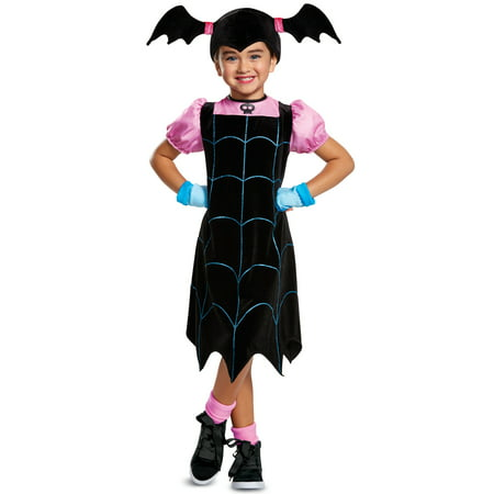 Halloween Costume Ideas Male Long Hair (Transylvania vampirina classic child halloween costume 3t-4t 3/4)